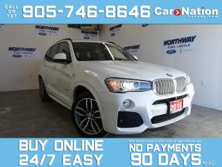 Used 2016 BMW X3 28d | XDRIVE | LEATHER | PANOROOF | NAV | DIESEL for sale in Brantford, ON