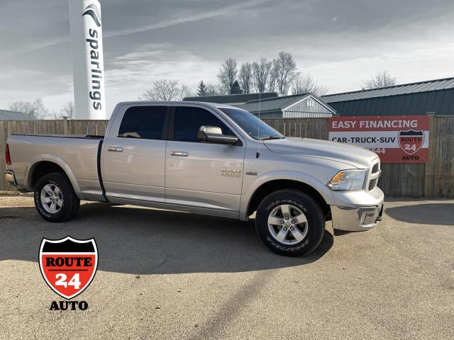 2014 RAM 1500 SLT Crew CAB Outdoorsman 4WD Hemi, talk about a really nice truck, power rear sliding window and lots more.