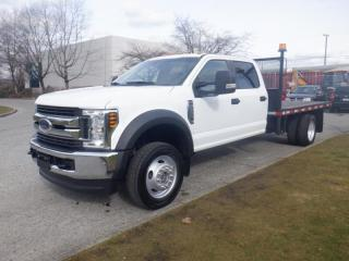 Used 2018 Ford F-550 Flat Deck 12 foot Crew Cab Dually 4WD for sale in Burnaby, BC