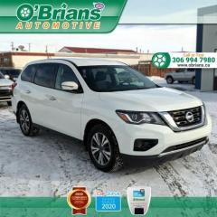 Used 2017 Nissan Pathfinder S w/Command Start, Backup Camera, Cruise, Air Conditioning for sale in Saskatoon, SK