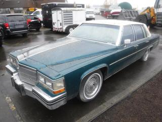 Used 1984 Cadillac Sedan DeVille for sale in Burnaby, BC