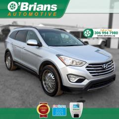 Used 2013 Hyundai Santa Fe Limited w/AWD, Command Start, Backup Camera, Leather, Navigation for sale in Saskatoon, SK