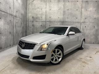 Used 2014 Cadillac ATS AWD , 2.0L TURBO , TOIT   , CUIR , for sale in St-Nicolas, QC