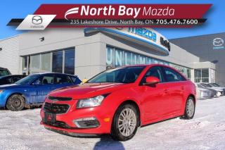 Used 2016 Chevrolet Cruze ECO AS IS - Bluetooth - Cruise - Back Up Camera for sale in North Bay, ON