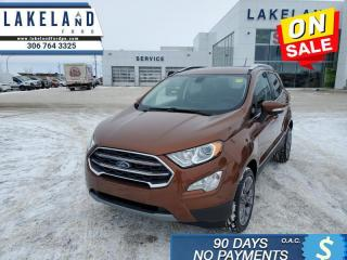 Used 2020 Ford EcoSport Titanium 4WD  - $163 B/W for sale in Prince Albert, SK