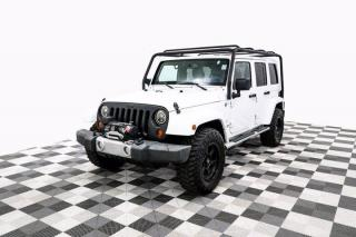 Used 2013 Jeep Wrangler Unlimited Sahara 4WD Leather Heated Seats for sale in New Westminster, BC