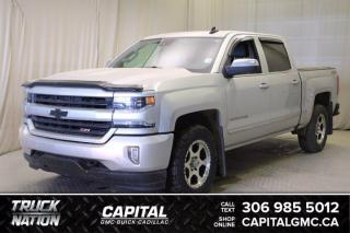Used 2018 Chevrolet Silverado 1500 LTZ Crew Cab *LEATHER*SUNROOF* for sale in Regina, SK