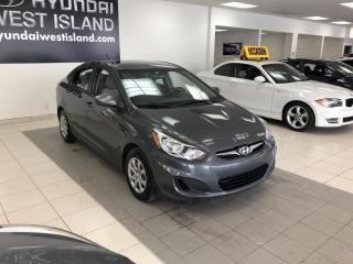 Used 2012 Hyundai Accent GL AUTO A/C CRUISE GROUPE ÉLECTRIQUE for sale in Dorval, QC