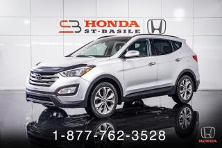 Used 2015 Hyundai Santa Fe Sport 2.0T + LIMITED + AWD + NAVI + CUIR + WOW for sale in St-Basile-le-Grand, QC