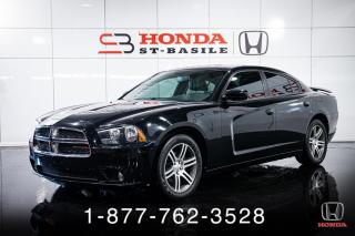 Used 2014 Dodge Charger SXT PLUS + CUIR + TOIT + V6 + MAGS + WOW for sale in St-Basile-le-Grand, QC