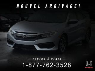 Used 2018 Honda Civic SE + AUTO + A/C + CRUISE + CAMERA + WOW! for sale in St-Basile-le-Grand, QC