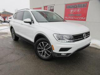 Used 2018 Volkswagen Tiguan CUIR TOIT PANO AWD 4MOTION BLUETOOTH for sale in St-Jérôme, QC