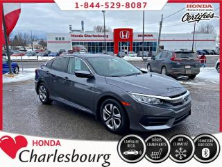 Used 2017 Honda Civic LX AUTOMATIQUE**34 397KM** for sale in Charlesbourg, QC