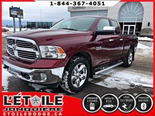 Used 2017 RAM 1500 Cabine quad 4RM, 140,5 po Big Horn for sale in Jonquière, QC