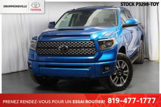 Used 2018 Toyota Tundra VERSION **TRD SPORT**  RARE ET UNIQUE EN BLEU! for sale in Drummondville, QC