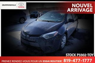 Used 2016 Toyota Corolla LE| CAM RECUL| SIÈGES CHAUFFANTS for sale in Drummondville, QC