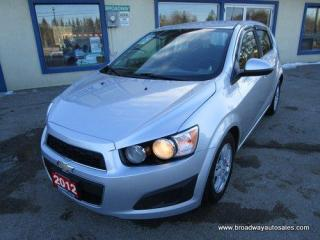 Used 2012 Chevrolet Sonic FUEL EFFICIENT 2-LT-HATCH EDITION 5 PASSENGER 1.8L - ECO-TEC.. CD/AUX INPUT.. KEYLESS ENTRY.. for sale in Bradford, ON