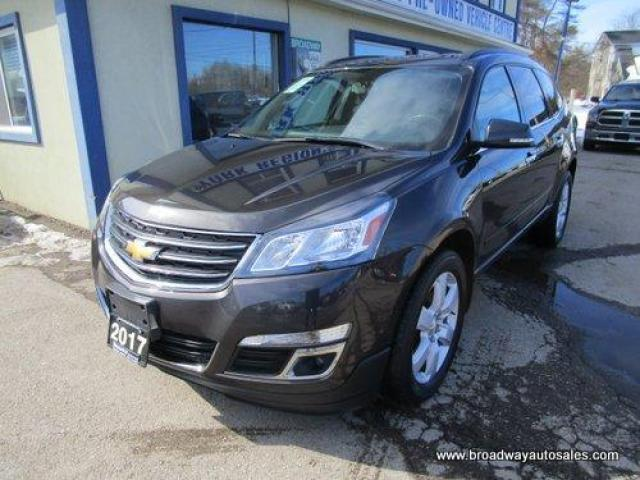 2017 Chevrolet Traverse ALL-WHEEL DRIVE 1-LT EDITION 7 PASSENGER 3.6L - V6.. SLIDING CAPTAINS.. THIRD ROW.. HEATED SEATS.. BACK-UP CAMERA.. BLUETOOTH SYSTEM..