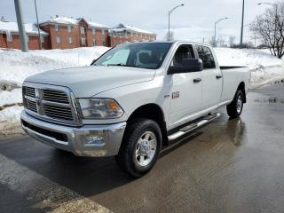Used 2012 RAM 2500 SLT 4X4 8FT.LB *BT*A/C*CRUISE* for sale in St-Jérôme, QC