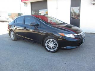 Used 2012 Honda Civic LX $6,995+HST+LIC FEE / TINTED WINDOWS / CERTIFIED for sale in North York, ON