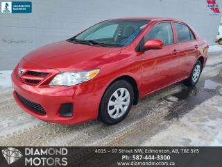 Used 2013 Toyota Corolla LE for sale in Edmonton, AB