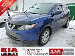 Used 2017 Nissan Qashqai S ** CAMÉRA DE RECUL / SIÈGES CHAUFFANTS for sale in St-Hyacinthe, QC
