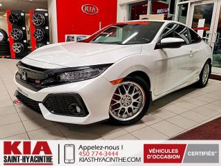 Used 2017 Honda Civic Si ** TOIT OUVRANT / CAMÉRA DE RECUL for sale in St-Hyacinthe, QC