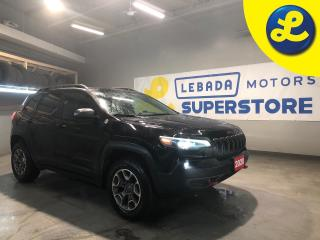 Used 2020 Jeep Cherokee TRAILHAWK 4X4 * Back Up Camera * 8.4inch touchscreen 7inch fullcolour customizable incluster display * Steering Wheel Controls * Snow/Sport/Sand/M for sale in Cambridge, ON