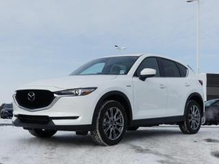 Used 2021 Mazda CX-5 100E ANNIVERSAIRE NEUF CUIR ROUGE for sale in St-Georges, QC
