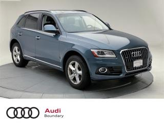 Used 2017 Audi Q5 2.0T Komfort quattro 8sp Tiptronic for sale in Burnaby, BC