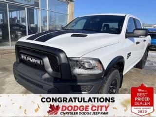 New 2021 RAM 1500 Classic Warlock | 4X4 | Crew Cab | 5'7 Box for sale in Saskatoon, SK