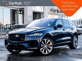 Used 2017 Jaguar F-PACE S AWD Meridian Sound Heated & Vented Seats Panoramic Roof for sale in Thornhill, ON