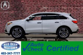 Used 2017 Acura MDX SH-AWD Tech Pkg Leather Roof Nav TV for sale in Red Deer, AB