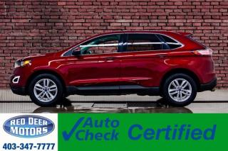 Used 2017 Ford Edge AWD SEL Leather Roof Nav for sale in Red Deer, AB