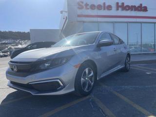 New 2021 Honda Civic SEDAN LX for sale in St. John's, NL