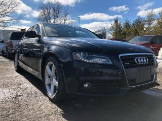 Used 2011 Audi A4 2.0T PREMIUM for sale in Pickering, ON