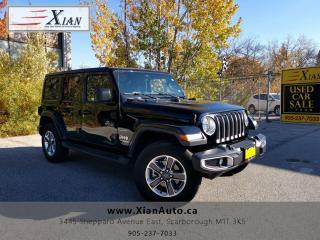 Used 2018 Jeep Wrangler Sahara for sale in Scarborough, ON