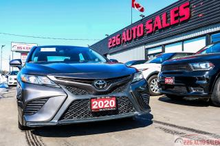 Used 2020 Toyota Camry SE\ACCIDENT FREE|BACKUP CAM|SUNROOF for sale in Brampton, ON