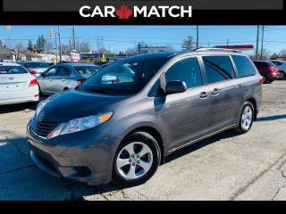 Used 2017 Toyota Sienna LE / POWER DOORS / NO ACCIDENTS for sale in Cambridge, ON