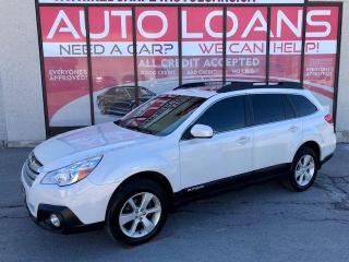 Used 2014 Subaru Outback 2.5i Premium-ALL CREDIT ACCEPTED for sale in Toronto, ON