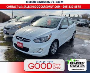 Used 2014 Hyundai Accent GLS for sale in Burlington, ON