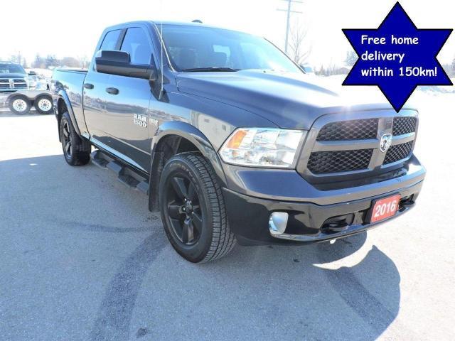 2016 RAM 1500 OUTDOORSMAN Hemi 4X4 New tires Only 43000 km
