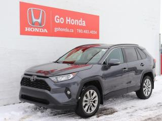 Used 2019 Toyota RAV4 XLE AWD LEATHER ROOF for sale in Edmonton, AB