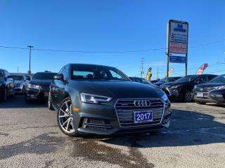Used 2017 Audi A4 No Accident|1 Ownr|S linePremiumPlus|AWD|Certified for sale in Brampton, ON