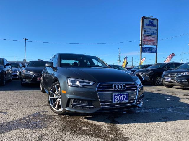 2017 Audi A4 No Accident|1 Ownr|S linePremiumPlus|AWD|Certified