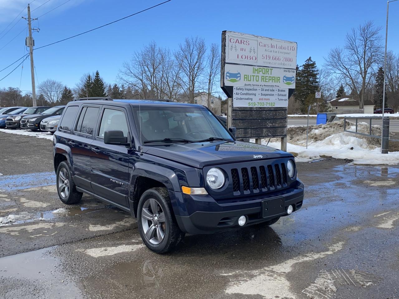 2015 Jeep Patriot High Altitude Leather, heated seats, Sunroof
