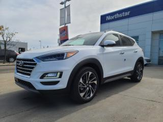 New 2021 Hyundai Tucson Ultimate: 8 TOUCH SCREEN NAV SYSTEM,BLUELINK,INFINITY PREMIUM AUDIO,LEATHER SEATING SURFACE for sale in Edmonton, AB