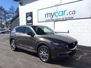 Used 2019 Mazda CX-5 GT w/Turbo TURBO!! LEATHER, SUNROOF, MYCAR POWERBUY!! for sale in Richmond, ON