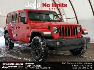 New 2021 Jeep Wrangler Unlimited Sahara for sale in Ottawa, ON