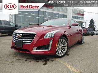 Used 2018 Cadillac CTS Sedan Luxury AWD for sale in Red Deer, AB